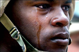 soldier-crying