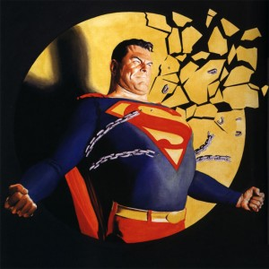 (c) Alex Ross' Superman