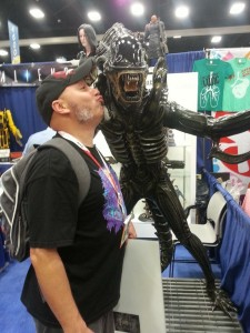 Kissing an Alien